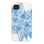 extracto del copo de nieve vibe iPhone 4 fundas