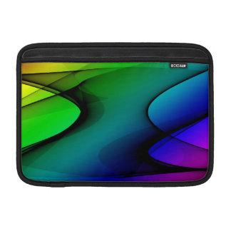 Extracto del espectro del arco iris fundas para macbook air