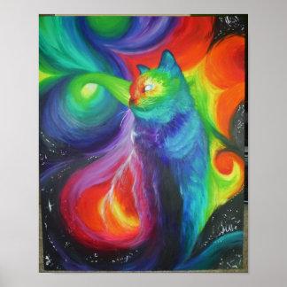 Extracto del gato póster