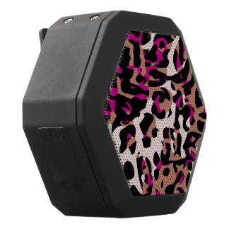 Extracto del guepardo de Brown de las rosas Altavoces Bluetooth Negros Boombot REX