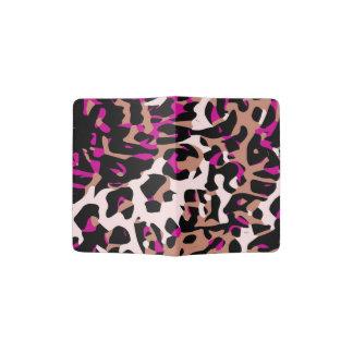 Extracto del guepardo de Brown de las rosas Porta Pasaporte