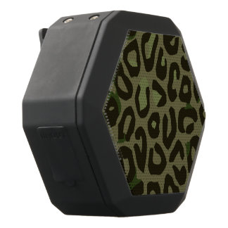 Extracto del guepardo del camuflaje altavoces bluetooth negros boombot REX