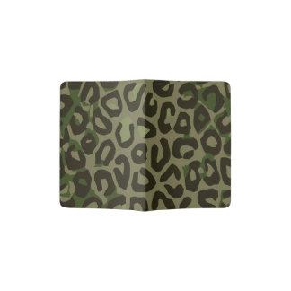 Extracto del guepardo del camuflaje porta pasaporte