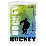 Extracto del hockey (varón) felicitación