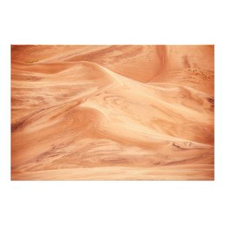 Extracto del modelo de las dunas de arena fotografía