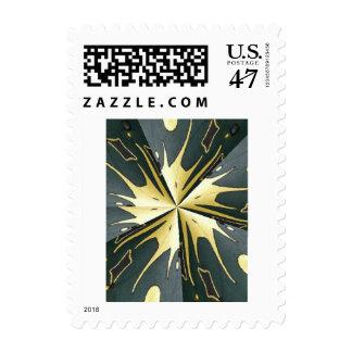 Extracto del oro verde de la colección de las sello