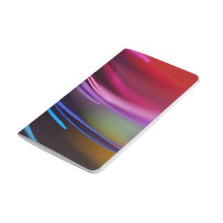 Extracto del papel coloreado cuaderno
