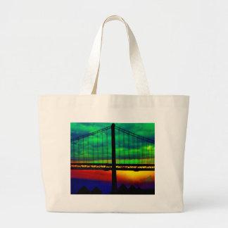 Extracto del puente de la bahía bolsa de mano