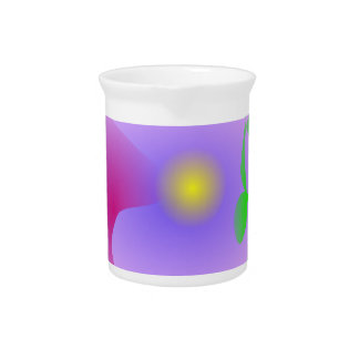 Extracto del rosa del festival de la visión de la jarrones