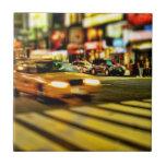 Extracto del taxi de NYC Azulejos Ceramicos