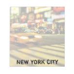 Extracto del taxi de NYC Libreta Para Notas