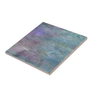 Extracto del trullo y de la lila azulejo cuadrado pequeño