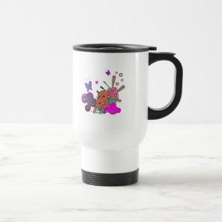 extracto del vector del frenesí de la mariposa taza de café