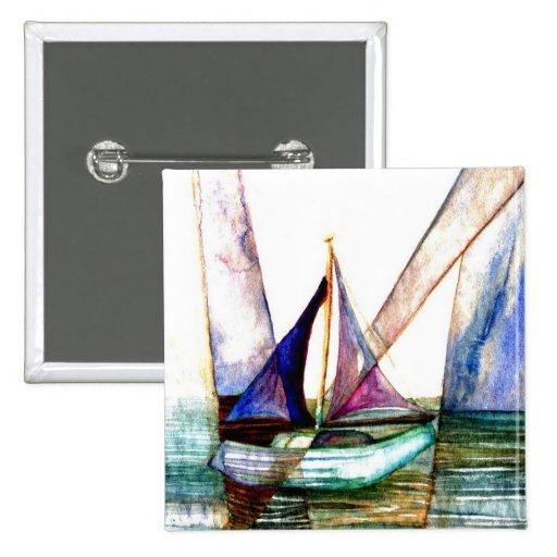 Extracto del velero - arte del océano de CricketDi Pin