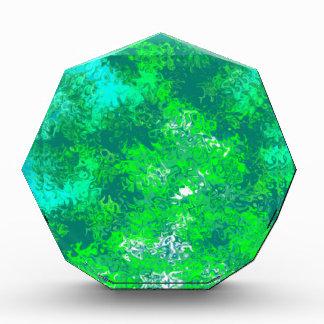 Extracto del verde azul de la aguamarina