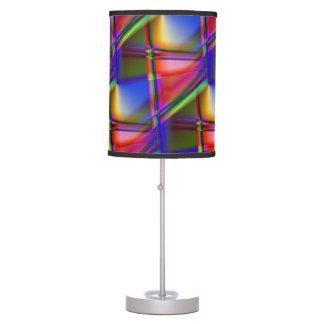 Extracto del vitral lámpara de mesilla de noche