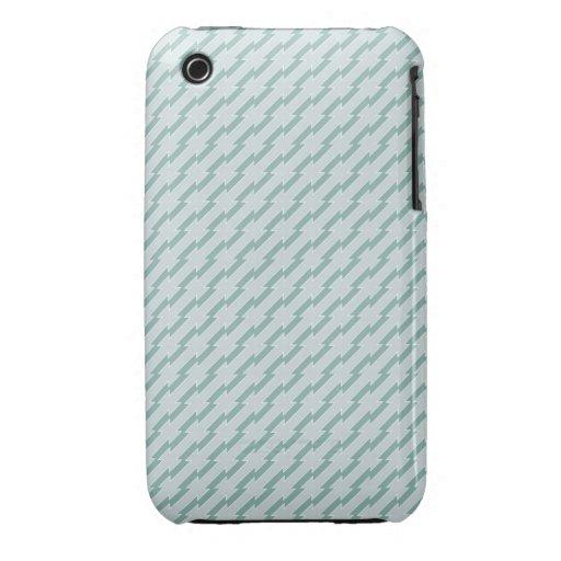 Extracto diagonal azul iPhone 3 Case-Mate cobertura