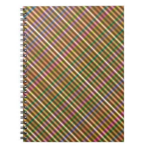 extracto diagonal multicolor libretas espirales