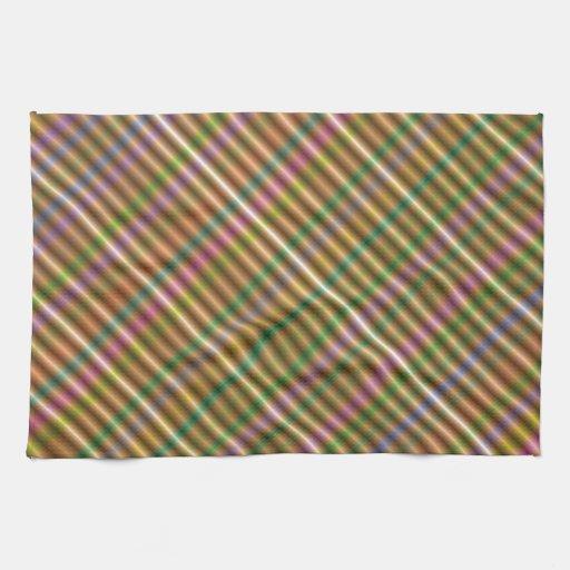 extracto diagonal multicolor toallas