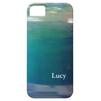 Extracto digital de moda elegante del océano del © iPhone 5 funda