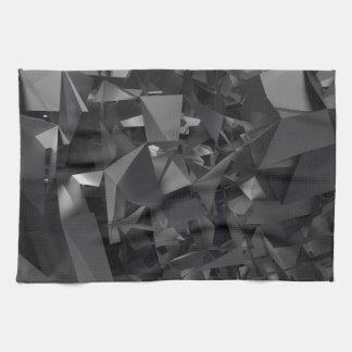 Extracto dimensional gótico toalla de cocina