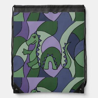 Extracto divertido del monstruo de Loch Ness Mochilas