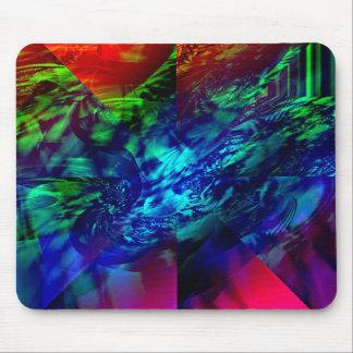 Extracto dividido del fractal tapetes de raton