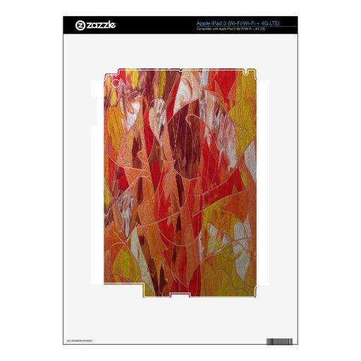 Extracto dorado 01 iPad 3 skin