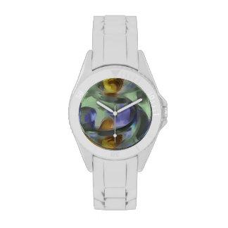 Extracto en colores pastel Circumvoluted Relojes