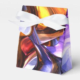 Extracto en colores pastel de fascinación de la cajas para regalos de boda