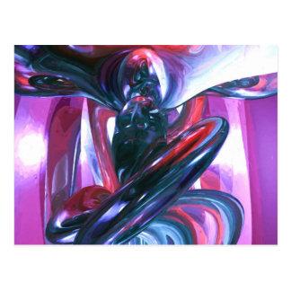 Extracto en colores pastel de la alucinación del postales