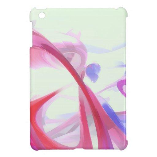 Extracto en colores pastel de la contorsión iPad mini cobertura