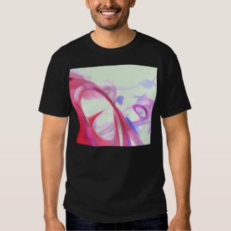 Extracto en colores pastel de la contorsión polera