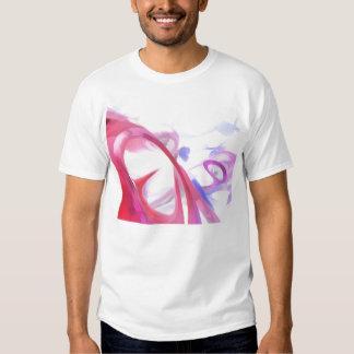 Extracto en colores pastel de la contorsión remeras