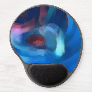 Extracto en colores pastel de la lujuria del túnel alfombrilla con gel