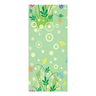 extracto en colores pastel de las flores tarjeta publicitaria personalizada