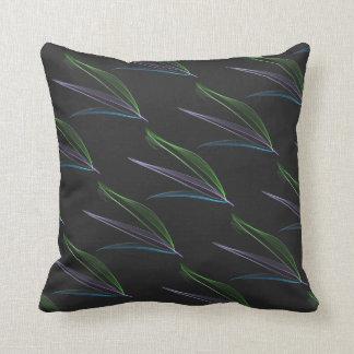 Extracto en colores pastel de las plumas almohada