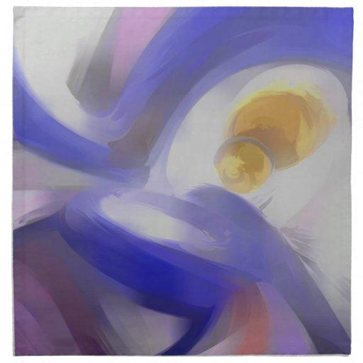 Extracto en colores pastel de Vision de túnel Servilletas