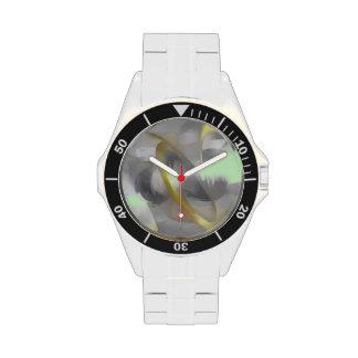 Extracto en colores pastel del deseo esterlina reloj de mano