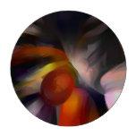 Extracto en colores pastel del resplandor