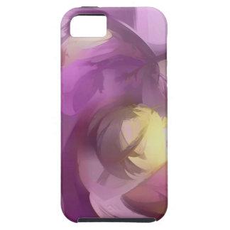 Extracto en colores pastel del verano violeta iPhone 5 carcasa