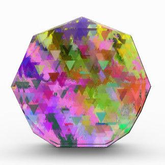 Extracto en colores pastel profundo vibrante del