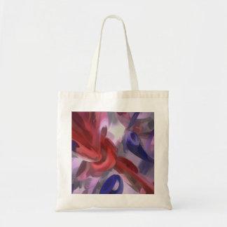 Extracto en colores pastel soltado bolsas lienzo