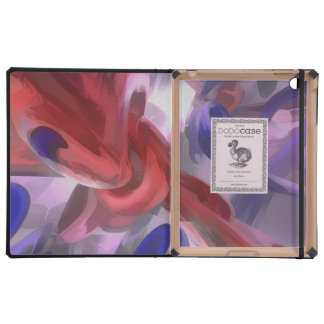 Extracto en colores pastel soltado iPad fundas