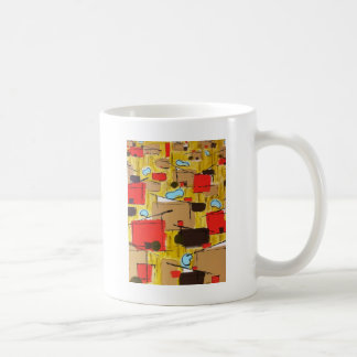 extracto en el eichlerhood por el barro taza de café
