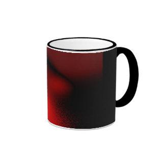 Extracto en rojo tazas de café