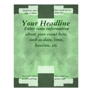 """Extracto en sombras del verde - de uso múltiple folleto 8.5"""" x 11"""""""