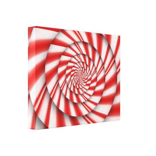 Extracto - espirales - el poder de la menta impresión en lona