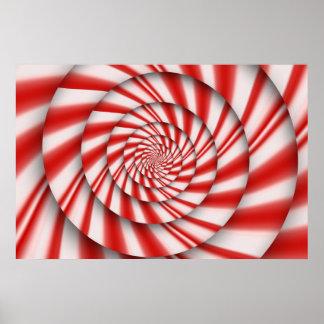 Extracto - espirales - el poder de la menta posters