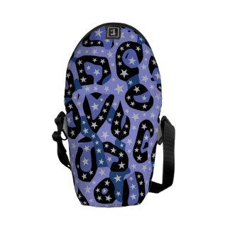 Extracto estupendo azul del guepardo de la bolsas de mensajería